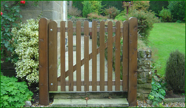 Timber Gates UK Garden Gates